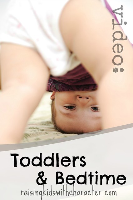 Wondering Wednesday: Toddlers and Bedtime