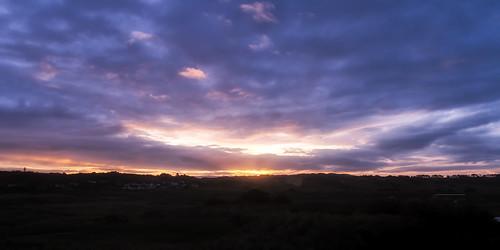 silhouette clouds sunrise landscape nikon sigma jersey 1770 manfrotto stouen sigma1770 colorefex d7000 lightroom4