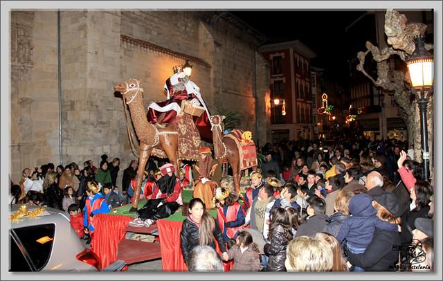 6 Cabalgata de Reyes de Briviesca 2.013