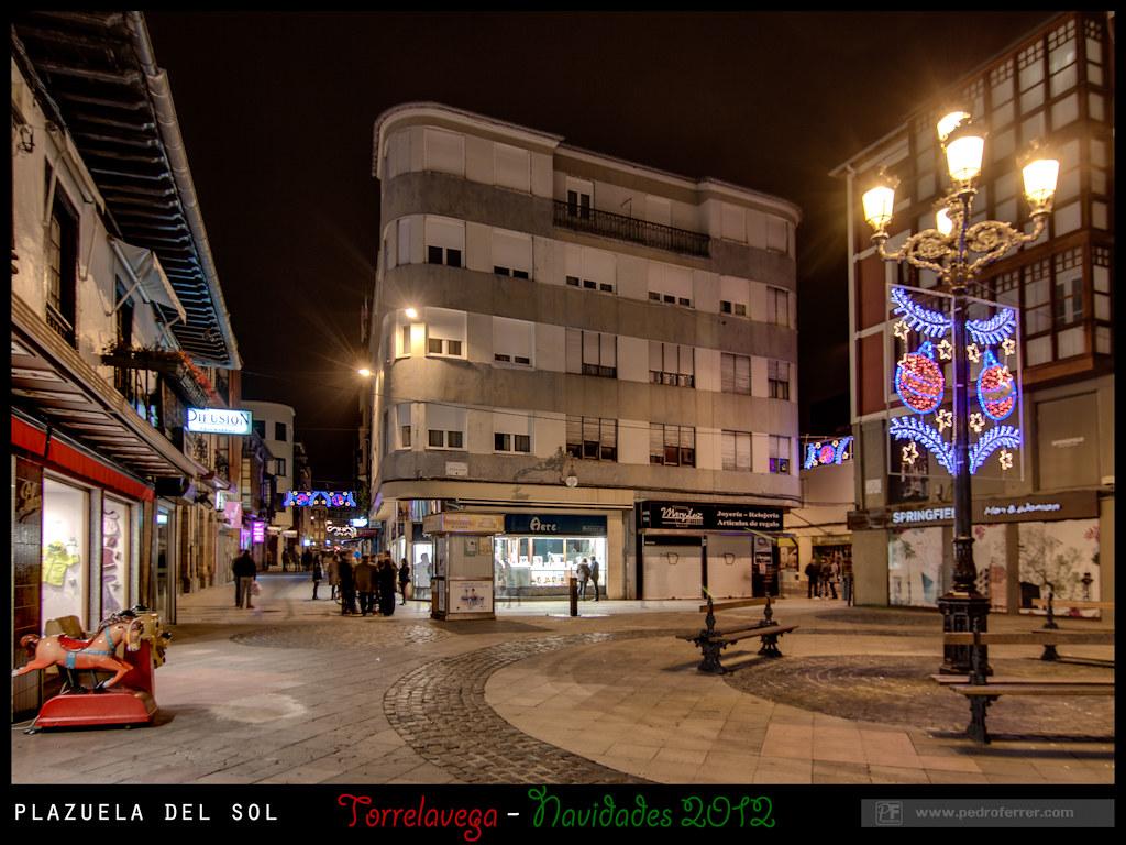 Navidades Torrelavega 2012 - Plazuela del Sol