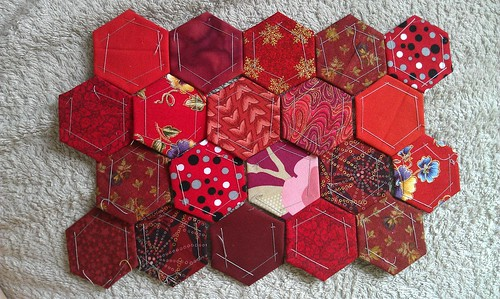 Red hexies