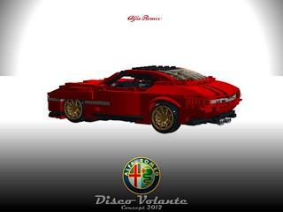 Alfa Romeo Disco Volante - Concept 2012