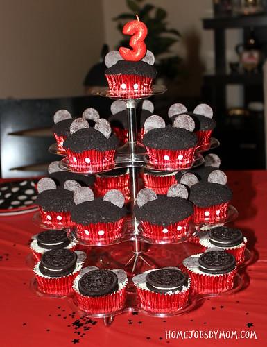 mickey cupcake ideas