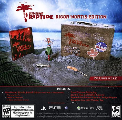Dead Island: Riptide Gets Rigor Mortis Collector's Edition