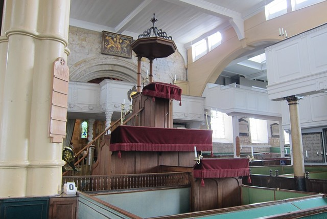 3-decker pulpit