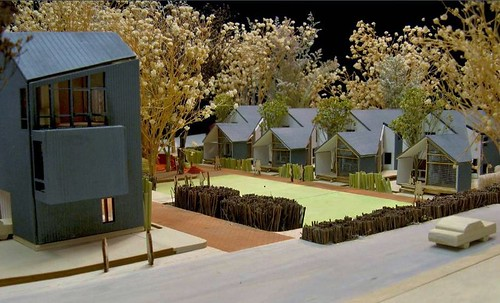 Pettaway Pocket Neighborhood (Courtesy of U of Arkansas Community Design Center & Downtown Little Rock CDC)