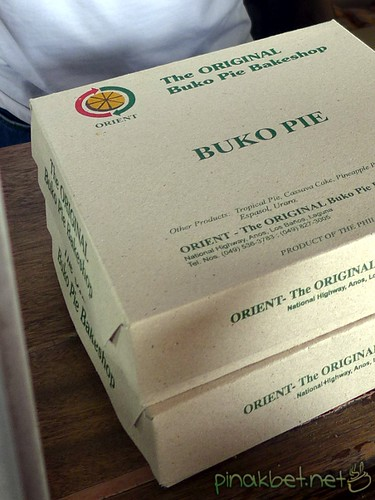The Original Buko Pie Bakeshop Box