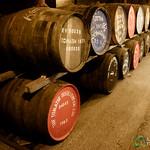 Tomatin Whisky Distillery, Barrells - Scotland