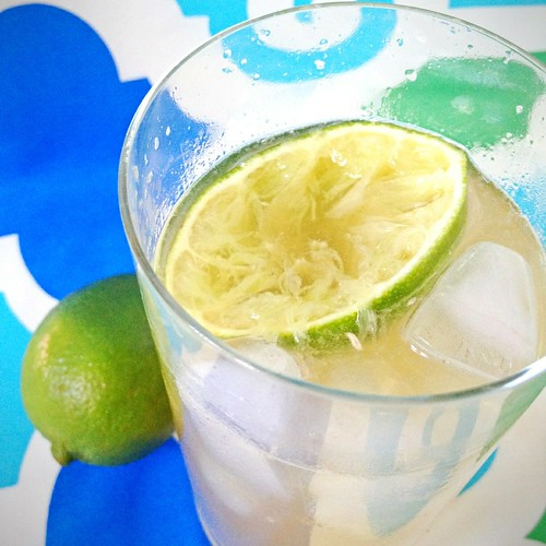 Ginger-Bourbon Rickey