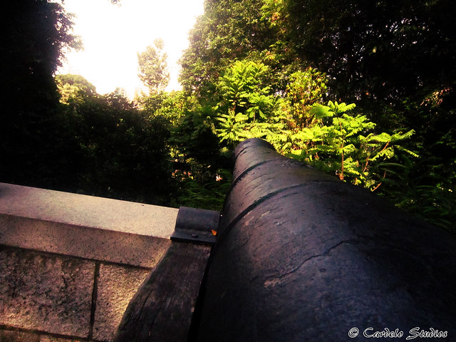 Fort Canning - 9-Pound Cannon 01