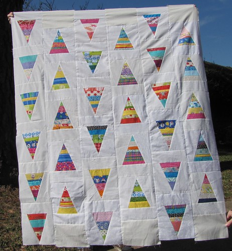 string triangle quilt