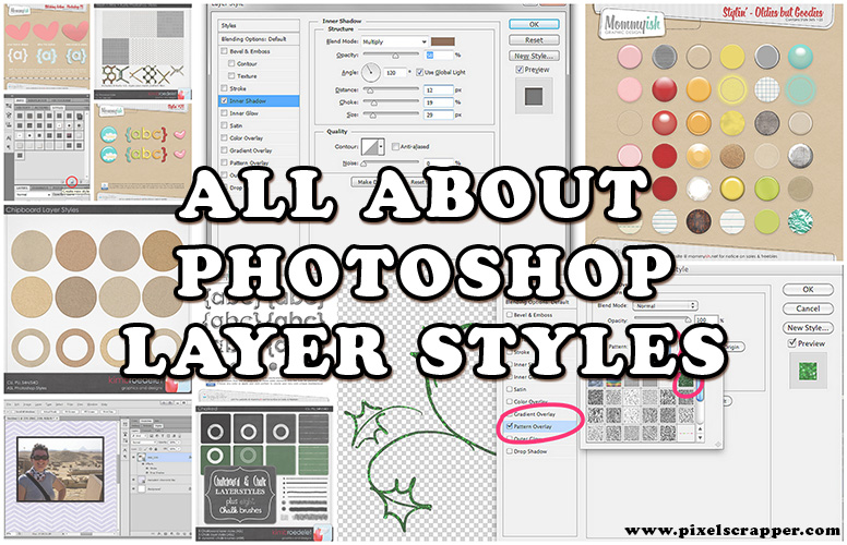 All About Photoshop Layer Styles