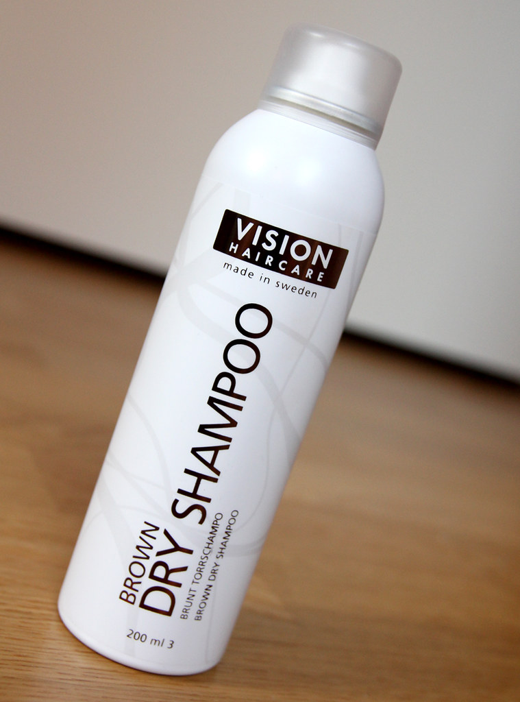 Vision haircare brown dry shampoo