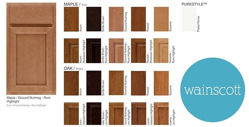 Martha Stewart Wainscott Cabinetry from Home Depot