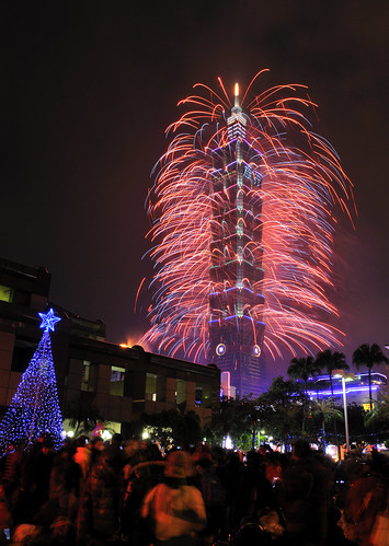Taipei 101 New Year Fireworks 2013