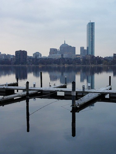 Charles River Scene in Boston