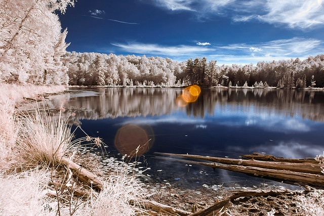 lakeside in IR