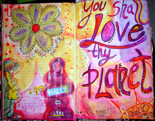 11 my art journal pages january 006