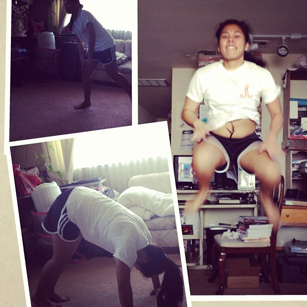 Dig deeper!!!!! #deepfryasparagusvolunteer#insanitycardiopowercircut #jumps.Thanks boo for the pics.