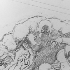 Work In Progress: yets smashing #dccomics #comics - sketches