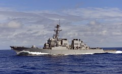USS Higgins (DDG 76) file photo. (U.S. Navy/MC3 Carla Ocampo)