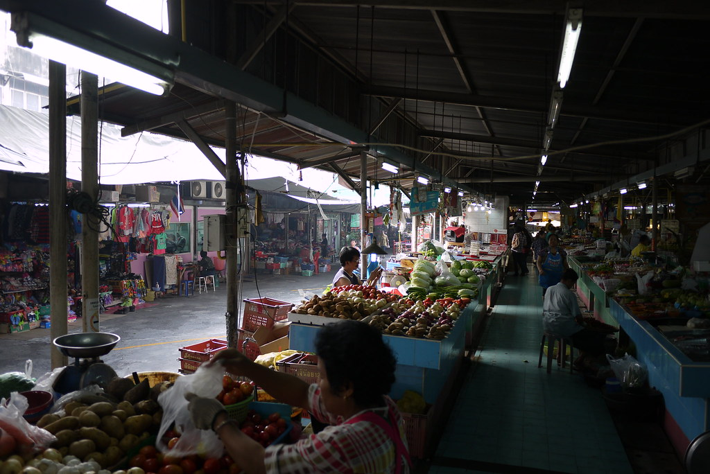 On Nut Market, Bangkok, Thailand