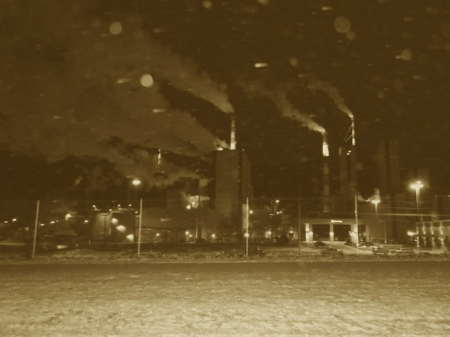 Sepia Power-plant