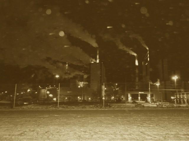 Sepia Power-plant