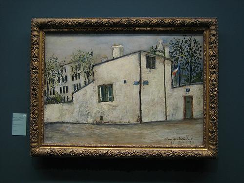 La Maison de Berlioz, 1824, Maurice Utrillo, Musée de l'Orangerie, Paris