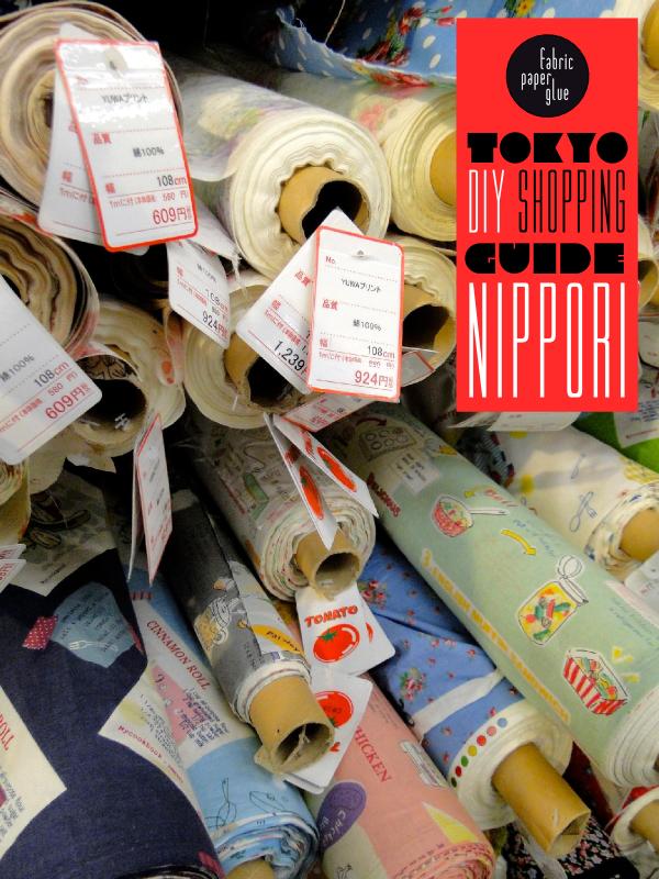 FPG Tokyo DIY Shopping Guide - Nippori