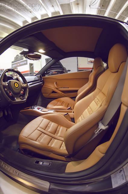 2013 Ferrari 458 Italia Interior Shot | Had a shoot on a ...  2013 Ferrari 45...