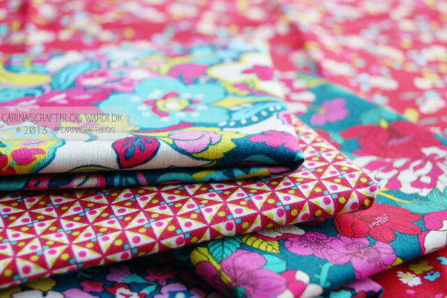 Liberty Lifestyle fabrics - from the Bloomsbury collection