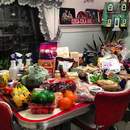 February grocery haul