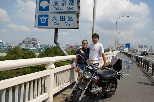 Emilie & Damin à Tokyo