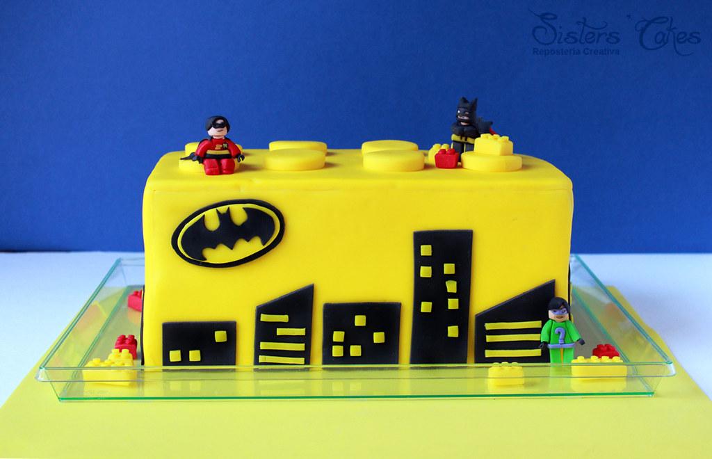 Lego Batman Cake A Photo On Flickriver - Lego batman birthday cake