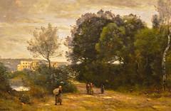 Jean-Baptiste Camille Corot - Landscape at Ville D'Avray, 1870 at Denver Art Museum - Denver Colorado