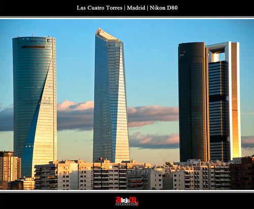 Las Cuatro Torres   Madrid by alrojo09