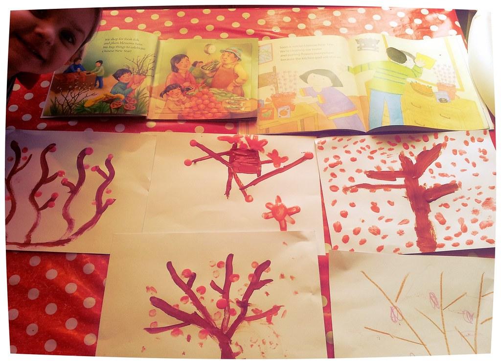 , Chinese New Year:  Plum Blossoms