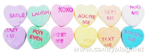 Necco Conversation Hearts & Necco Sweethearts