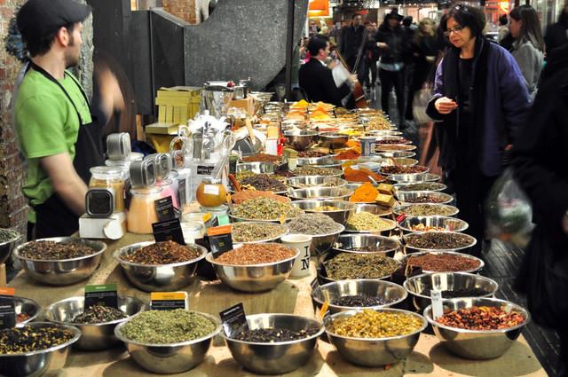 La tienda de las especias del Chelsea Market es la que más variedad tiene de todo Manhattan