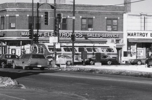 The intersection of South Kedzie Avenue and West 63rd Street.  Chicago Illinois.  Early January 1988. by Eddie from Chicago