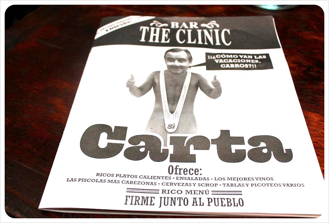 the clinic bar santiago