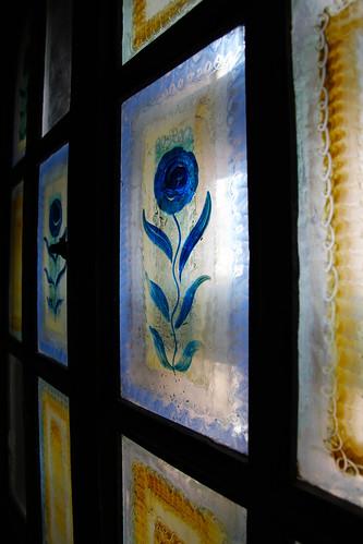 La Posada - Painted Window (Original)