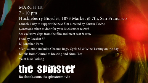 THE SPINSTER KICKOFF PARTY INVITE