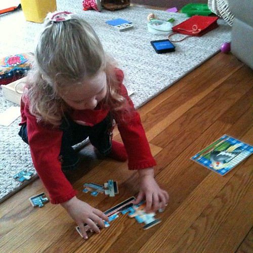Saturday morning puzzle building