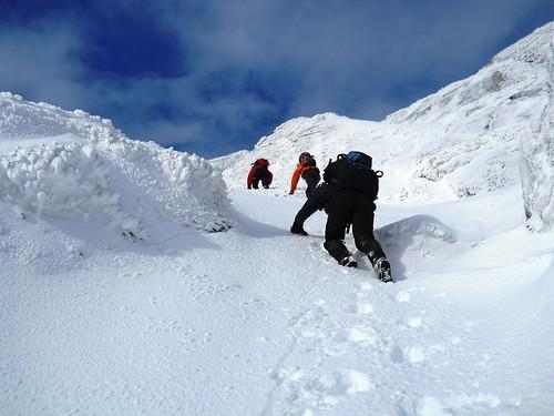 Ascending Ben Vane