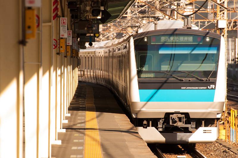 Keihintouhoku Negishi Line 1315C Isogo E233-1000 Ura105