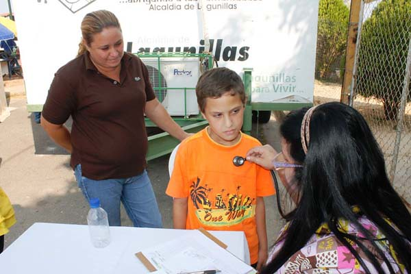 Jornada Social en Lagunillas.