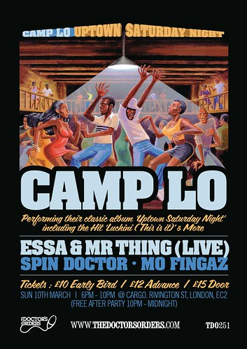 Camp Lo support flyer