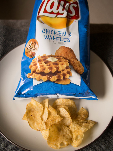 Lay's Chicken & Waffle Chips @ 7-Eleven | Flickr - Photo Sharing!